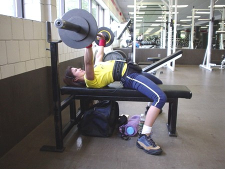... Powerlifting Bench Press Form ...