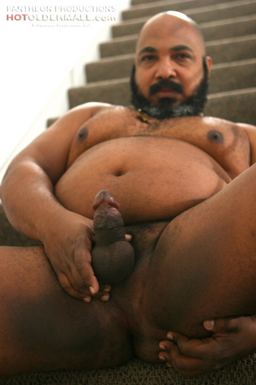 Sexy fat black men