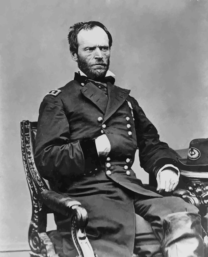 an analysis of the topic of the shermans march and the major general william tecumseh During sherman's 1864 march to the sea, major general william t sherman moved his army across the state of georgia, destroying confederate war resources and significantly damaging the confederacy.